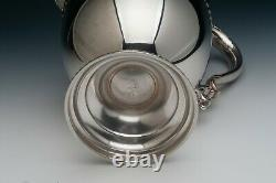 Poole Sterling Silver Water Pitcher, Gadroon Border, 4.55 pints, 9.75