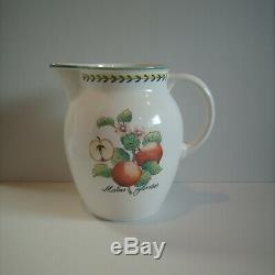 RARE Villeroy & Boch LARGE French Garden Fleurence Water Pitcher Jug