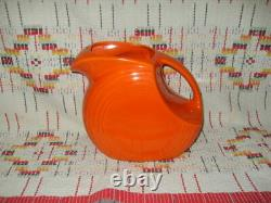 Radioactive Red Fiesta Large Disc Water Jug -fiestaware -w17
