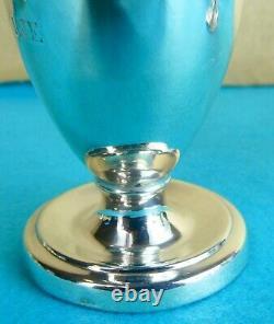 Rare Pair Georgian Sterling Silver Wine & Water Jugs Robert Gainsford 1809