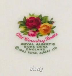 Rare Royal Albert Old Country Roses Bone China England Ewer Jug Water Pitcher
