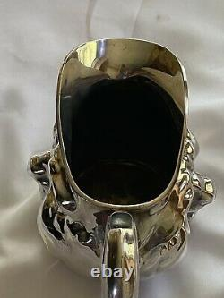 Reed & Barton Sunny Jim Double Face Water Pitcher #5640 VIntage Silver plate