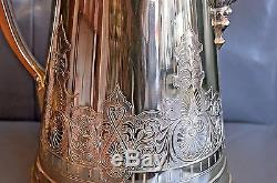 Roger Smith & Company Silverplate Ice Water Pitcher