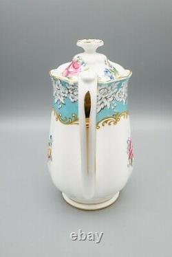 Royal Albert Enchantment Hot Water Pot Jug Pitcher and Lid FREE USA SHIPPING