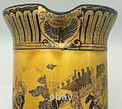 Royal Doulton Eglinton Tournament 1839 Pitcher Water Jug Medieval Jousting