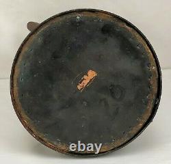 Rustic Primitive Vintage Copper Pitcher Water Jug Hand Wrought Soldered Antique