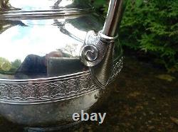 STUNNING RARE c1866 ANTIQUE TIFFANY & CO SILVER 19th CENTURY WATER JUG / PITCHER