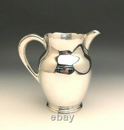 Skylark by S. Kirk & Son Sterling Silver Water Pitcher 8.25 tall, item #210A