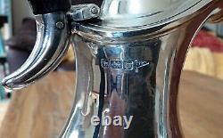 Solid Silver Claret Jug Ewer Water, Walker Hall Sheffield 1914