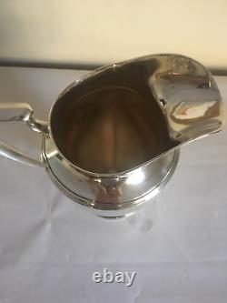 Sterling Silver Fisher Water Pitcher