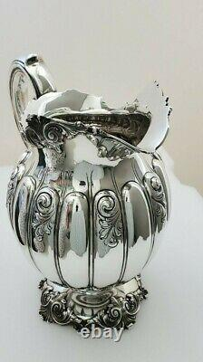 Sterling Silver Water Pitcher 1906