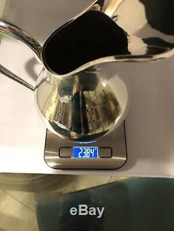 Sterling Silver Water Pitcher, 925, Great Condition