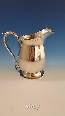 Sterling Silver Water Pitcher by Frank M. Whiting Gorgeous Scalloped Design