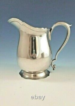 Sterling Silver Water Pitcher by Frank M. Whiting Irish Pattern 4 1/2 Pt