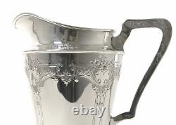 Sterling silver water pitcher (jug). USA, International Silver Co
