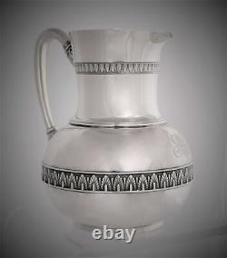 Tiffany & Company Sterling Silver Water Pitcher 1870 Union Square