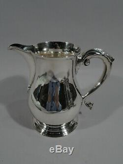 Tiffany Water Pitcher 18543 Antique Georgian American Sterling Silver