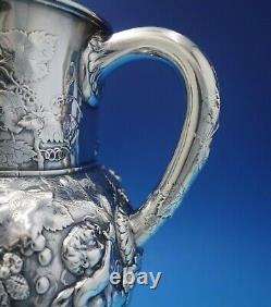 Tiffany and Co Sterling Silver Water Pitcher with Putti Instruments Figural #5219