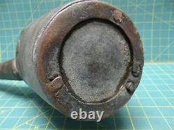 Turkish Copper Water Jug Pitcher Cramp Seam Antique hammered 1700s or 1800s