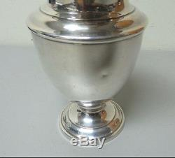 VINTAGE TOWLE STERLING SILVER WATER PITCHER, MONOGRAM N P A, 620 grams