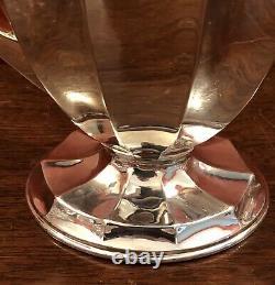 Very Large Sterling Silver Water Jug C1910