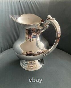 Vintage 8 1/2 Inch Reed And Barton X 766 Sterling Silver Water Pitcher 8 H. P