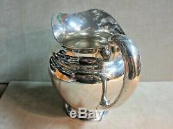 Vintage English Sterling Silver Water Pitcher 23.23 Ozt