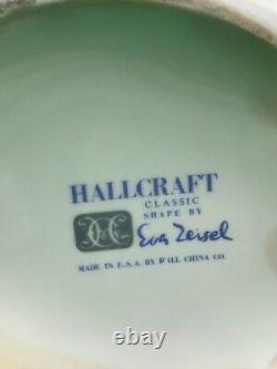 Vintage Eva Zeisel Fantasy Hallcraft MCM Large Water Pitcher Jug 96oz