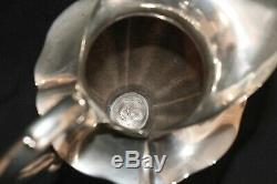Vintage Feisa Mexican Sterling Silver Huge Water Pitcher / Jug 11 1/2 Tall