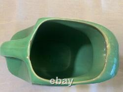 Vintage Fiesta Medium Green Disc Water Pitcher Jug Fiestaware