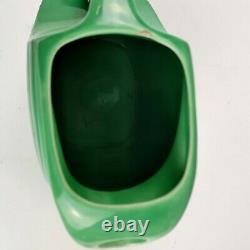 Vintage Fiesta Medium Green Disc Water Pitcher Jug Fiestaware 7 3/8 Chip