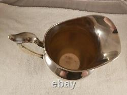 Vintage Gorham Sterling Silver 4 1/4 Pint Water Pitcher #182