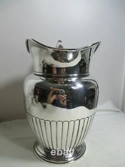 Vintage Manchester Sterling Silver Water Pitcher 4.5 Pint #969