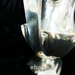 Vintage Meriden Britannia 1895-1930's Sterling Silver Water Pitcher 20oz+