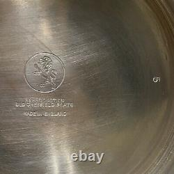 Vintage Old Sheffield Plate Silver Water Pitcher Reproduction (England)