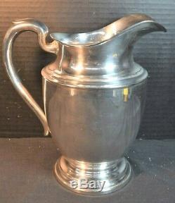 Vintage Sterling Silver Water/Milk Pitcher