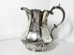 Vintage Tiffany & Co. 925 Sterling Silver Water Pitcher 74 2567 Free Us Ship