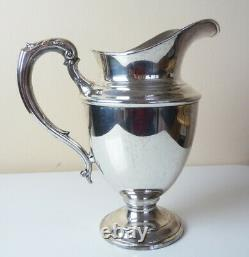 Vintage Towle STERLING SILVER WATER PITCHER no mono Flawless 619g