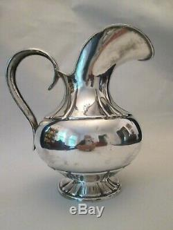 WATER PITCHER! Vintage PERL OPAISA STERLING 925 silver classic pattern LOVELY