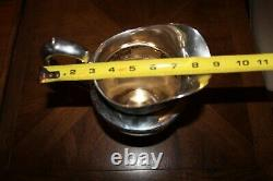Wallace Rose Point Sterling Silver Water Pitcher 22.5 ounces or 639 grams