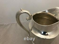 Wallace Sterling Silver 201 8 Water Pitcher