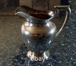 Wallace Sterling Silver 9 Water Pitcher Monogram JFT 660 Grams Excellent