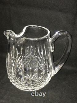 Waterford Crystal Lismore 32 Ounce Ice Lip Jug / Water Pitcher Marked on Bottom