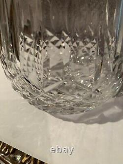 Waterford Crystal Lismore Ice Lip Jug / Water Pitcher Marked WaterFord 6'' T