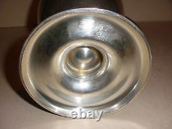 10.5 Vintage International Sterling Silver Water Pitcher 4 Pintes #1864 995,4 Gr