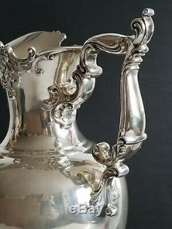 19c Énorme Pitcher Sterling Silver Water J. E. Caldwel & Co
