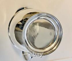 Américain, Shreve & Co, Début Du 20ème Siècle Sterling Silver Water Pitcher
