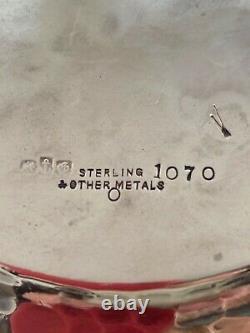 American Gorham Mfg Co 1882 Argent Sterling Autres Métaux Pitcher D'eau