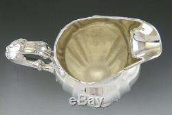 Antique 1898 Gorham En Argent Sterling Grande Cruche D'eau Lourde No Mono 11 1,141g
