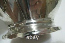 Antique Art Nouveau Wmf Silverplate Paire Pitchers De Vin D'eau Jugs 8.50